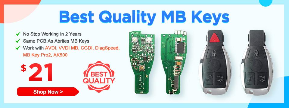 Best Quality MB Keys