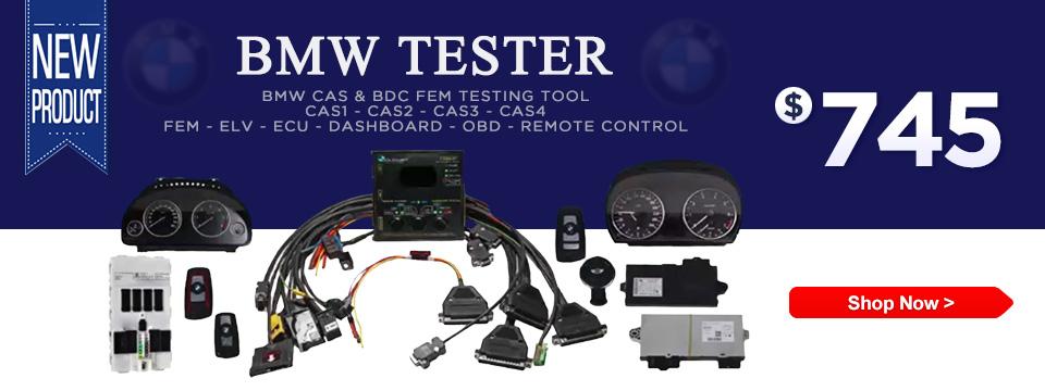 BMW CAS & BDC FEM Gateway Testing Tool - for CAS1 CAS2 CAS3 CAS4 FEM ELV ECU Dashboard OBD Remote Control Test