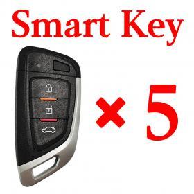 Xhorse VVDI Universal Smart Key with Proximity - 5 pcs