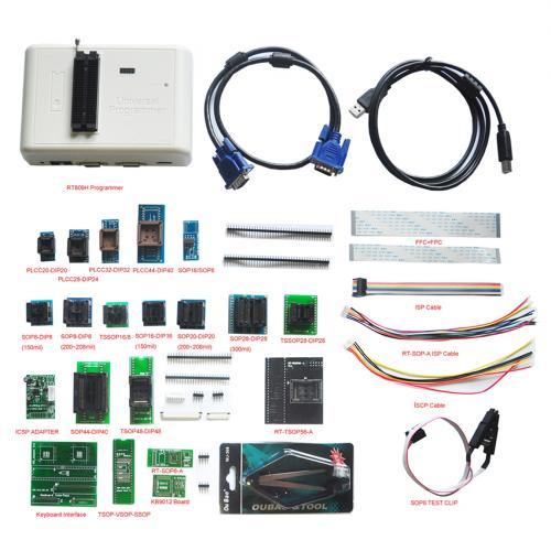 RT809H Universal Programmer With 24 adapter Full Kit