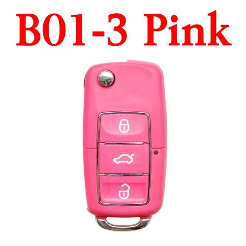 5PCS B01-3 Luxury Blue Original Universal Remote Key for KD MINI KD900 URG200