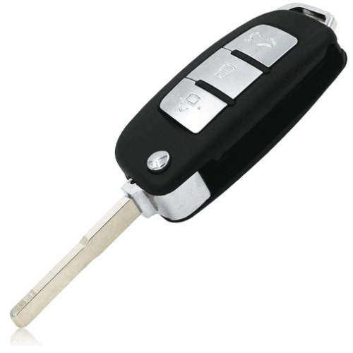 3 Button Modified Folding Remote Key Shell For Ford Focus Fiesta C