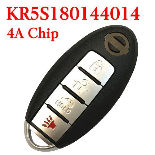 434 Mhz 3 1 Ons Smart Proximity Key For Nissan Altima Maxima 2016 2018 Kr5s180144014