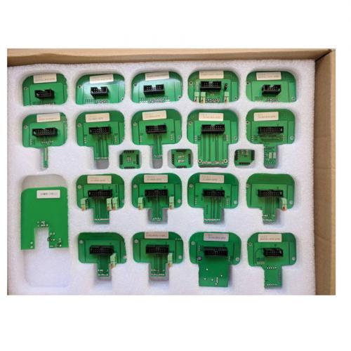 With 22Pcs BDM Adapters KESS KTAG KTM Dimsport BDM Probe Adapters Full Set Denso