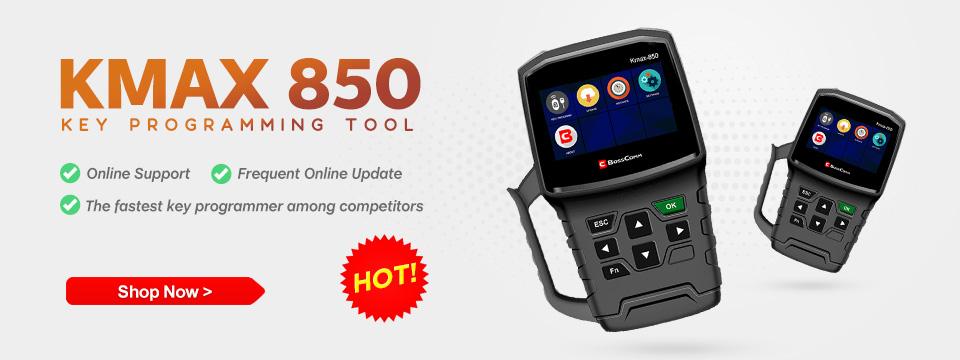 BOSSCOMM Kmax 850 Key Programming Tool