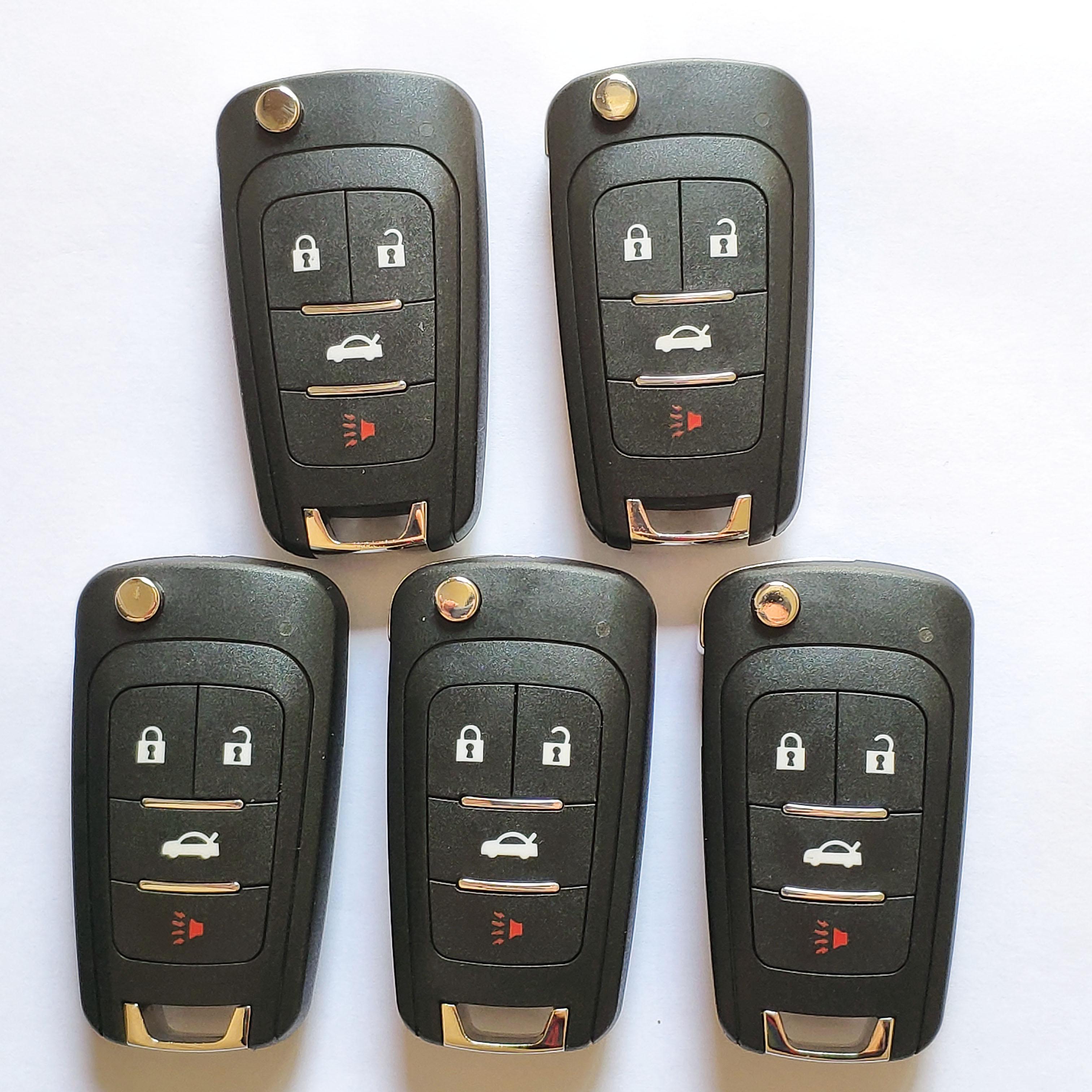 pieces xhorse vvdi gm type  wireless universal remote control   blades logos